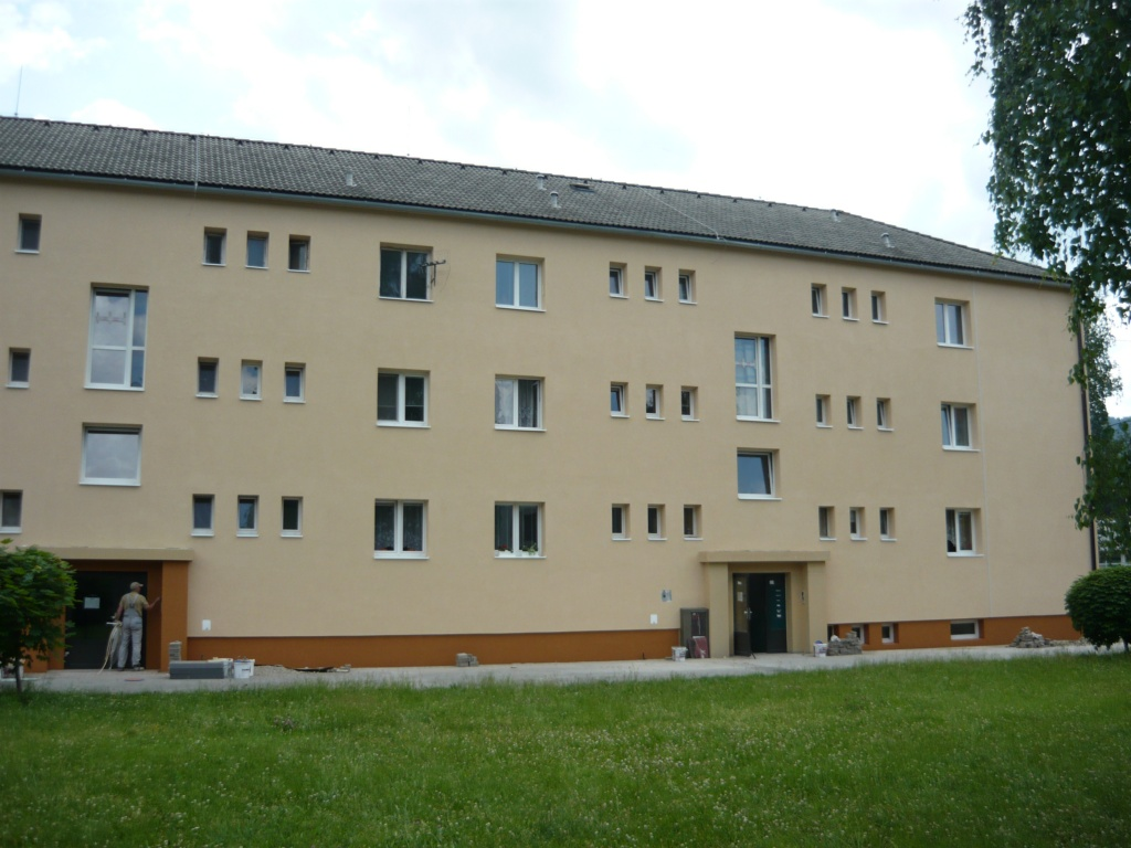 výpomoc zateplenie bytový dom 2. rk